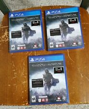 MIDDLE EARTH SHADOW OF MORDOR GAME Sony PlayStation4 PS4 BRANDNEW FACTORY SEALED
