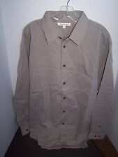 NEW TravelSmith Mens Shirt XL XXL Taupe Mocha Blue Coral Teal Travel Smith