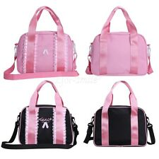 New Girls Quilted Tote Toe Shoe Dance Bag Ballet Shoulder Bag Detachable Strap