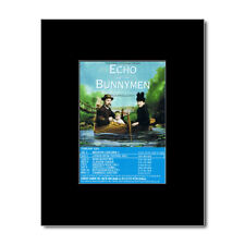 ECHO AND THE BUNNYMEN - UK Tour 2002 Mini Poster