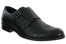 Red Tape Smart Leather Oxford Double Monk Strap Slip On Padded Grange Shoes