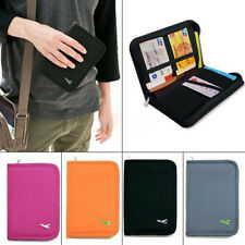 New Travel Passport Credit Card Document Holder Case Bag Organizer Wallet Purse