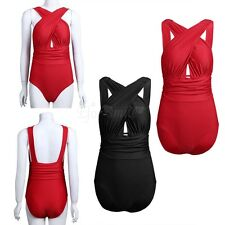 Women One-Piece Swimsuit Beachwear Swimwear Push Up Bikini Bathing Suit S-XXL