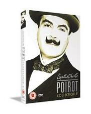 Agatha Christie's Poirot Collection.2 Dvd David Suchet New & Factory Sealed