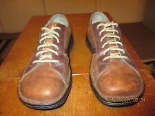 "MEN'S BROWN MERRELL ""HOMMES"" LEATHER OXFORDS SZ.10-M"