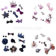 Lovely Fashion Baby Girl Hair Bow Mixed Design Toddler Hair Clips Baby Shower