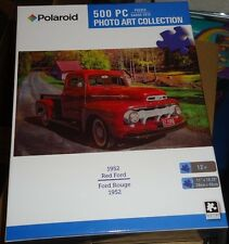 500 PIECE JIGSAW PUZZLE - 1952 RED FORD  ( NEW )