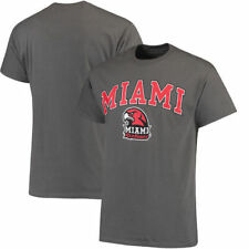 Miami University RedHawks Campus T-Shirt - Charcoal - NCAA