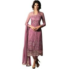 Bollywood Wedding Georgette Embroidered Salwar Kameez Suit India-Glamour-34003-B