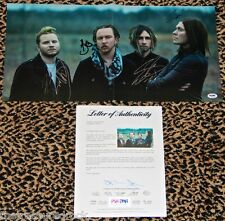 SHINEDOWN autographed signed photo poster by all AMARYLLIS PSA DNA COA ROCK 2014