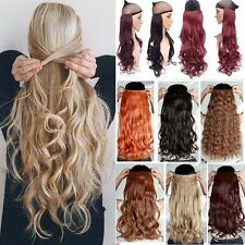 Real Full Head Clip In Hair Extensions Curly Straight UK As Human Hair Extension