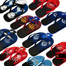 Football Soccer Official Flip Flops Slippers Shoes Childrens & Adult Sizes