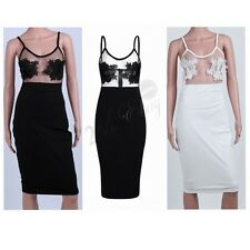 Womens Bodycon Cocktail Bandage Dress Ladies Party Evening Short Mini Dress