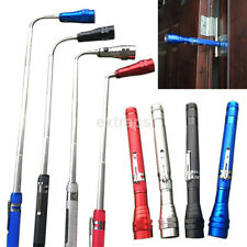 Multicolor Flexible Torch Telescopic 3LED Magnetic Pick Up Tool Light Flashlight