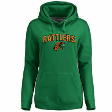 Florida A&M Rattlers Women's Proud Mascot Pullover Hoodie - Kelly Green - NCAA