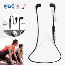 HD Stereo Earpiece Bluetooth Headset Headphone Earphone For iPhone Samsung HTC
