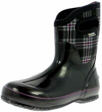 Bogs Outdoor Boots Womens Classic Winter Plaid Mid Waterproof 71537