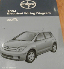 scion repair manual 2004 toyota scion xa electrical wiring diagram service shop repair manual ewd