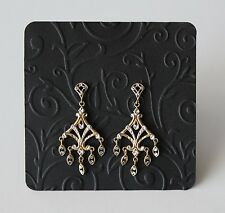 """Earring Cards -3""""x3"""" Embossed Jewelry Display Cards - Craft Show Jewelry Display"""