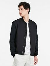 calvin klein mens honeycomb quilted bomber jacket