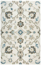Rizzy Rugs Beige Vines Scrolls Mirrored Contemporary Area Rug Floral LO9983