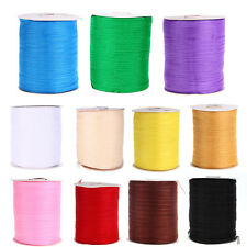 "1/4"" 6mm 500 Yards Chiffon Ribbon Sewing Wedding Craft Clothing Decoration"