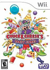 WII Chuck E Cheese Party Games