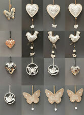 Vintage Style Wedding Hanging Hearts Heart Home Decoration Gift Wedding Favours
