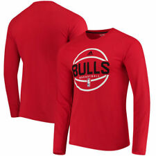 Chicago Bulls adidas On-Court Ultimate climalite Long Sleeve T-Shirt - NBA