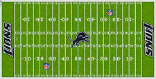 Detroit Lions Electric Football Vinyl Field Cover