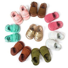 New Baby PU Tassel Toddlers Shoes Summer Boy Girls Sandals Toe Shoes 0-18 Months