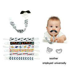 Baby Kids Chain Clip Holders Boy Girl Dummy Pacifier Nipple Soother Leash Strap