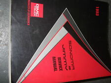 1993 GMC JIMMY & SONOMA TRUCK Service Shop Repair Manual FACTORY OEM Book