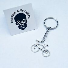 Bicycle Keyring Keychain Gift for Cyclist or Bike Rider MTB DH ROAD Christmas