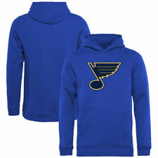 St. Louis Blues Rinkside Youth Primary Logo Pullover Hoodie - Blue - NHL