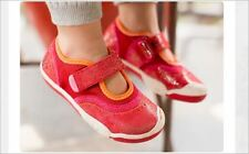 NEW PLAE 'Emme' Girls Mary Jane Shoes Ruby Shimmer 2.5  Youth Choose