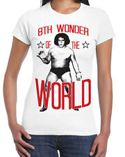 602 Andre the Giant womens T-shirt 8th wonder of the world eighth wrestling icon