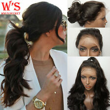 8A Human Hair Full Lace Wig Lace Front Wig For Womens Natural Loose Wave Hair