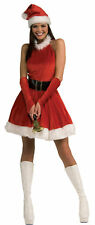Santas Inspiration Miss Claus Sexy Christmas Holiday Dress Festive Adult Costume