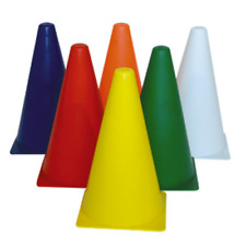 BUFFALO SPORTS PLASTIC WITCHES HATS - 9 INCH / 23CM - SET OF 10