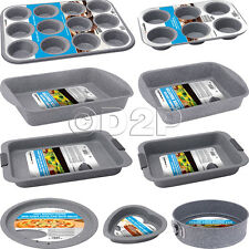 NON STICK CARBON STEEL COOKIE MUFFIN CAKE LOAF PIZZA BAKE PIE BAKING ROAST TIN