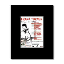 FRANK TURNER - UK Tour 2009 Mini Poster - 10x13.5cm
