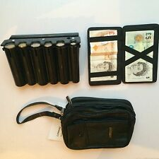 BLACK CAB COIN HOLDER CASH DISPENSER  MAGIC WALLET MAN BAG COMBO TAXI BUS DRIVE