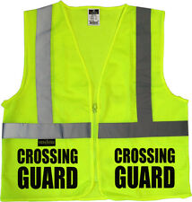 Crossing Guard Mesh vest, traffic safety vest, school safety, municipal safety