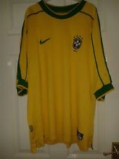 18 X Mens Football Shirt - Brazil Brasil National Team - Home - Away - Nike