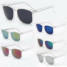 Retro Oversized Square Large Frame Sunglasses Mens Womens Fashion Style Glasses