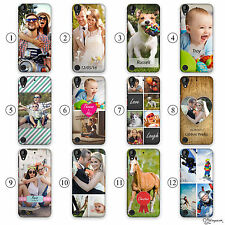 HAIRYWORM PERSONALISED PHOTO EFFECTS, TEXT, INITIAL PLASTIC PHONE CASE FOR HTC