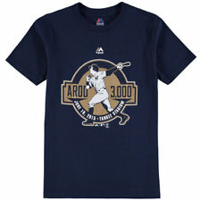 Alex Rodriguez New York Yankees Majestic Youth 3,000 Hits T-Shirt - Navy - MLB