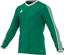 Adidas Tabela 14 Football shirt Jersey, Long Sleeve Green G70677, M, or L