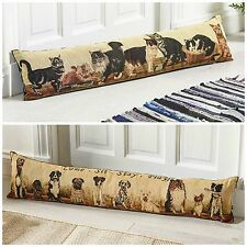 Cat or Dog Draught Excluder Door Window Cushion Draught Protection